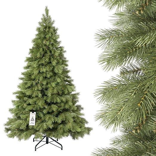 358 opinioni per FAIRYTREES Albero di Natale artificiale ABETE REALE PREMIUM, mix di materiali
