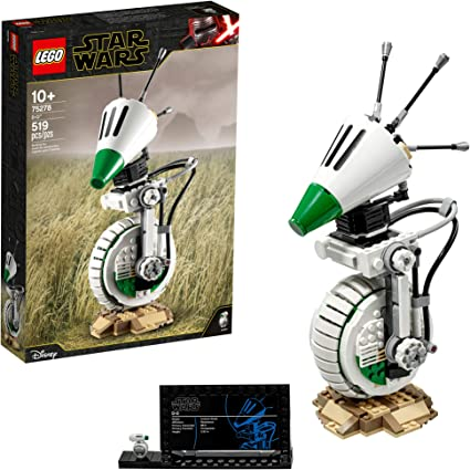 Amazon Com Lego Star Wars The Rise Of Skywalker D O 75278 Building Kit Collectible Star Wars Character And A Cool Birthday Gift Holiday Present Or Fun Surprise For Any Star Wars Fan New