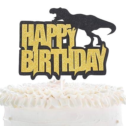 Decoración para tarta de cumpleaños.: Amazon.com: Grocery ...