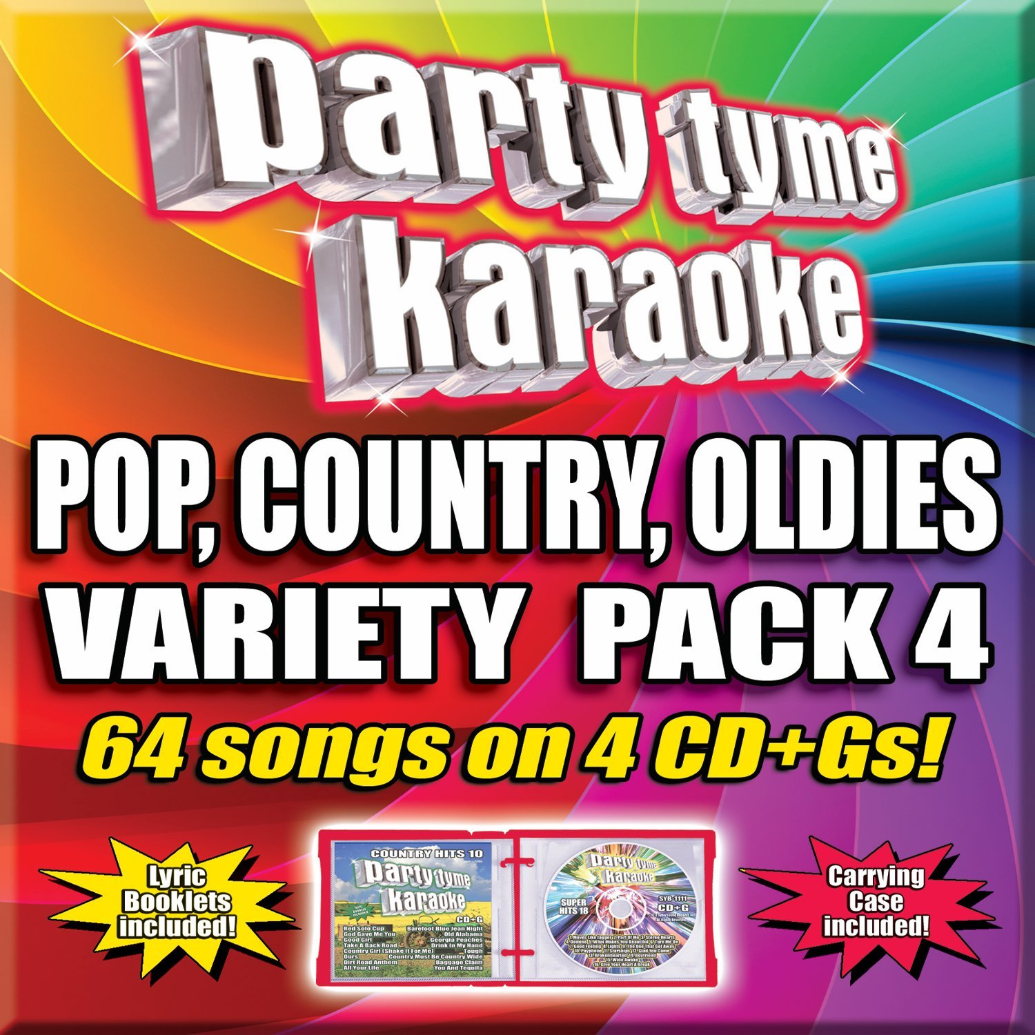 Party Tyme Variety Pack 4 64-Song Party Pack