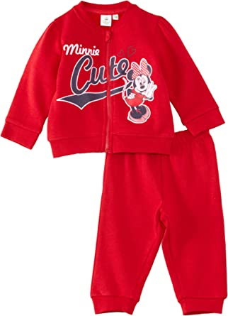 Kids Baby Girls Minnie Mouse Sweatshirt Top T-Shirt Pants Tracksuit Outfits Sets