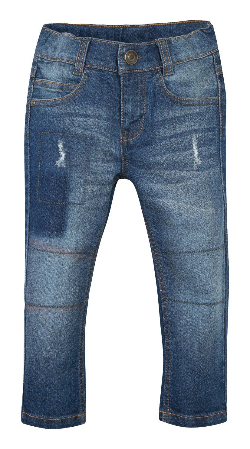 Grain de Blé Baby Boys' Effet Délavé Jeans 1K22090