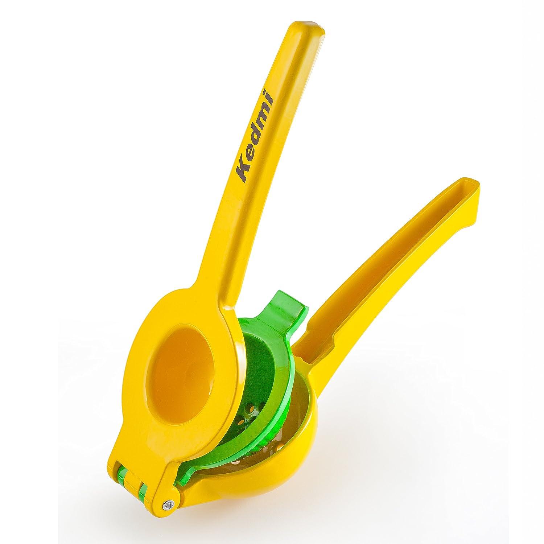 Lima Limón Exprimidor/rallador Set, Manual Acero Inoxidable Exprimidor, Plus Citrus Microplane rejilla de herramienta con funda protectora para ...