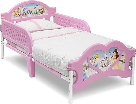 Letto Bambina.Disney Lettino Per Bambina Motivo Principesse Disney Amazon It