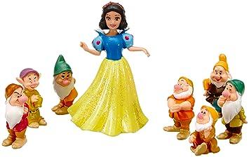 Schneewittchen mit 7 Zwerge Schneewittchen und die 7 Zwerge Spielzeug Figuren