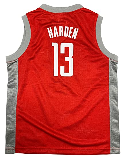 853c0c6a8af James Harden Houston Reockets  13 Red Youth Player Road Jersey (X-Small 4