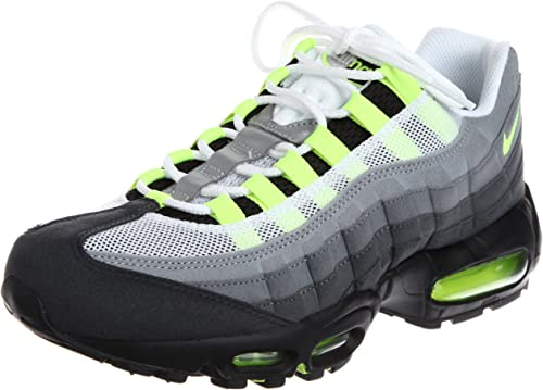 Amazon Com Nike Air Max 95 Og Neon 554970 174 Mens Shoes Road Running