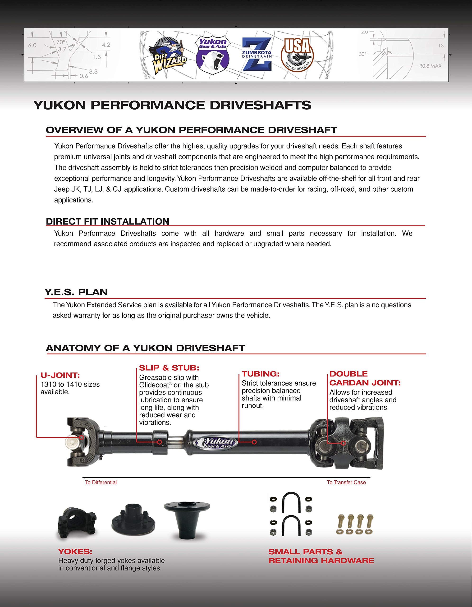 Yukon Gear /& Axle YG GM8.25-342R High Performance Ring /& Pinion Gear Set for GM 8.25 IFS Reverse Rotation Differential