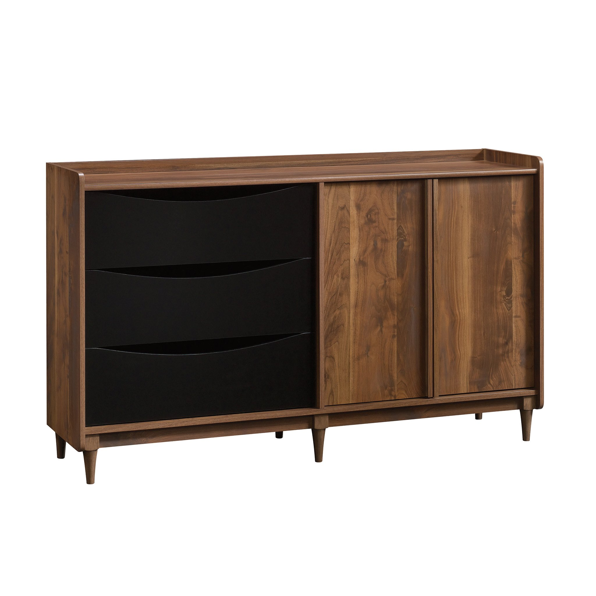 Sauder 420280 Harvey Park Entertainment Credenza, Grand Walnut Finish by Sauder (Image #1)
