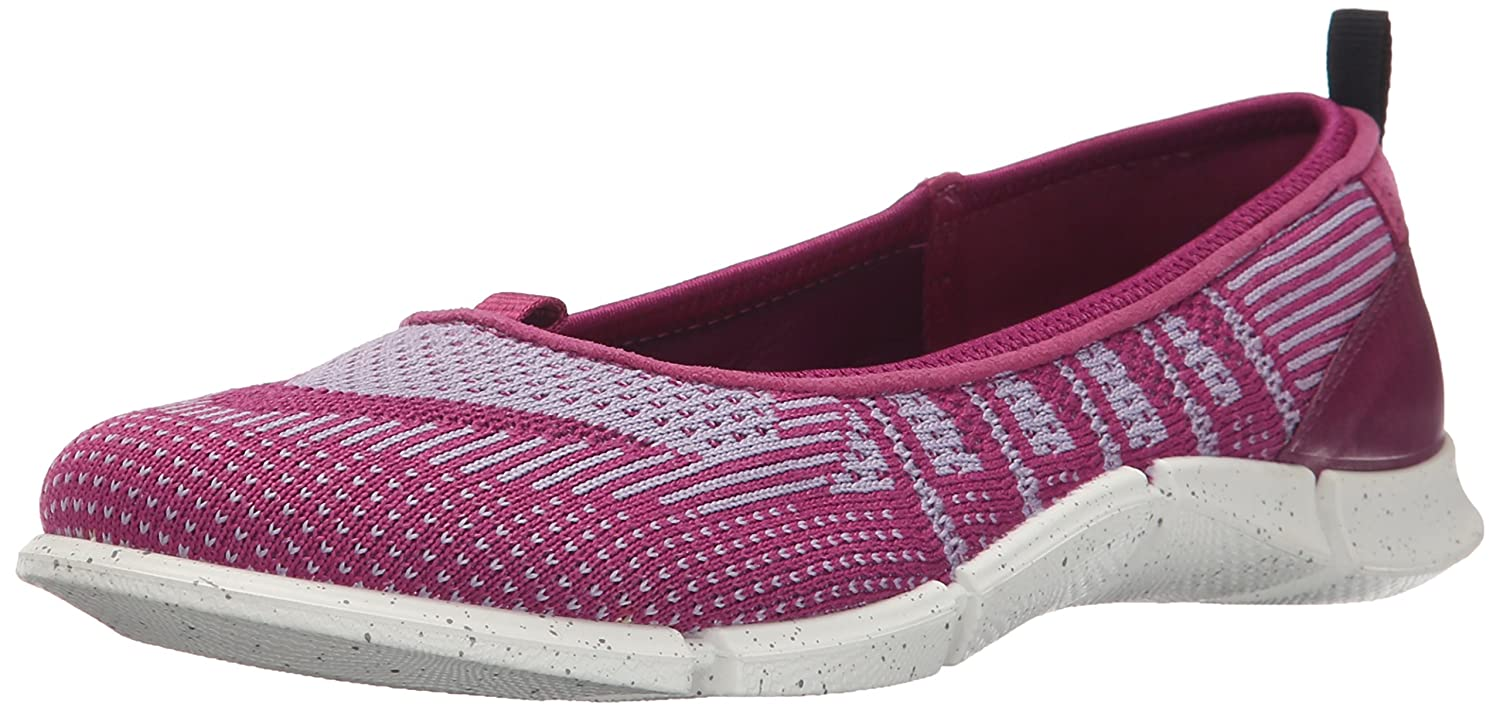 ECCO Women's Intrinsic Karma Flat Sporty Lifestyle B015KO09P6 42 EU/11-11.5 M US|Fuchsia/Light Purple