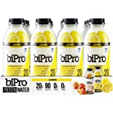 BiPro Protein Water, Lemon, 16.9 Ounce (Pack of 12)