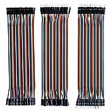 Elegoo EL-CP-004 120pcs Multicolored Dupont Wire