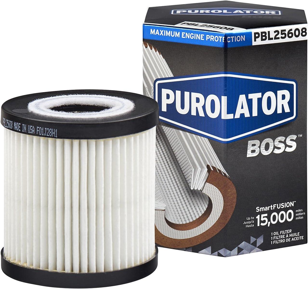 Purolator Pbl25608 Purolatorboss Maximaler Motorschutz Kartusche Ölfilter Auto