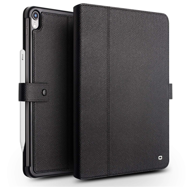 HYAIZLZ iPad Pro 11 ビジネスレザーケース ペンホルダー付きサポートペンシル充電 iPad Pro 11 キックスタンドレザーカバー EXC000799A  ブラック B07LFCF3P2
