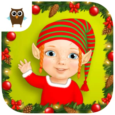 Sweet Baby Girl Christmas Fun and Santa Gifts- Nomads