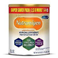 Enfamil Nutramigen Hypoallergenic Colic Baby Formula, Lactose Free Milk Powder,...