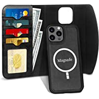 "FYY Case for iPhone 12 Pro Max 5G 6.7"", 2-in-1 Magnetic Detachable Wallet Case [Wireless Charging Support] with Card…"