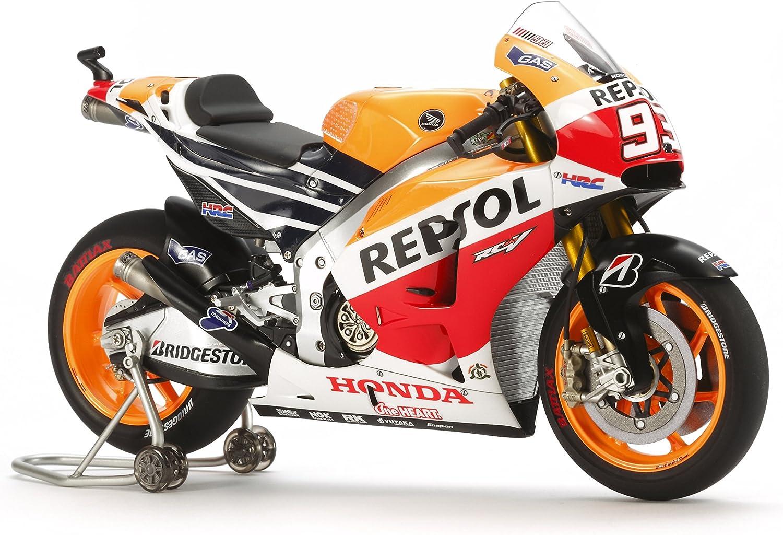 Tamiya 14130 1/12 Repsol Honda RC213V '14 Motorcycle Plastic Model Kit