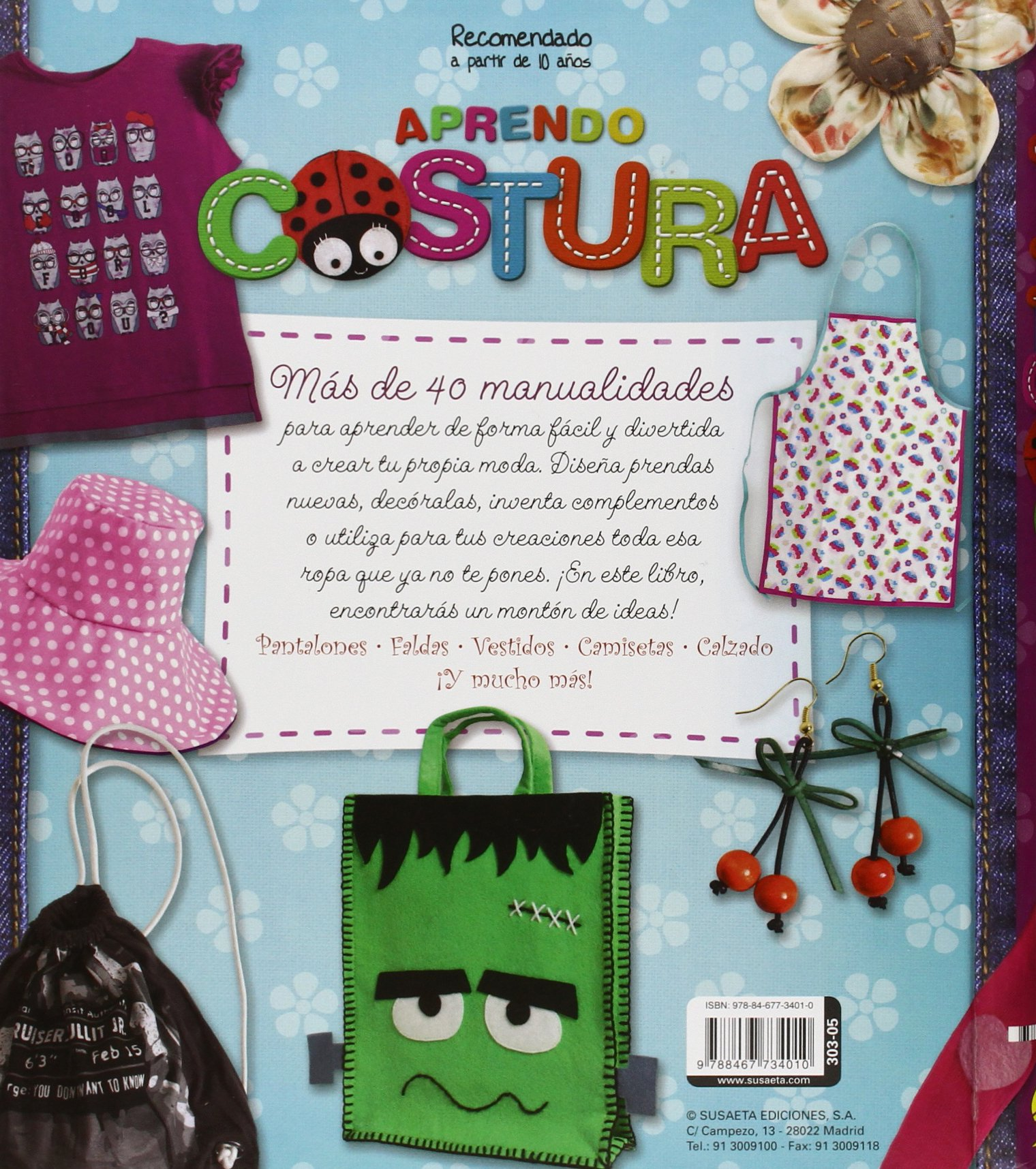 Aprendo costura (100 manualidades): Amazon.es: Sinache, Uriel ...