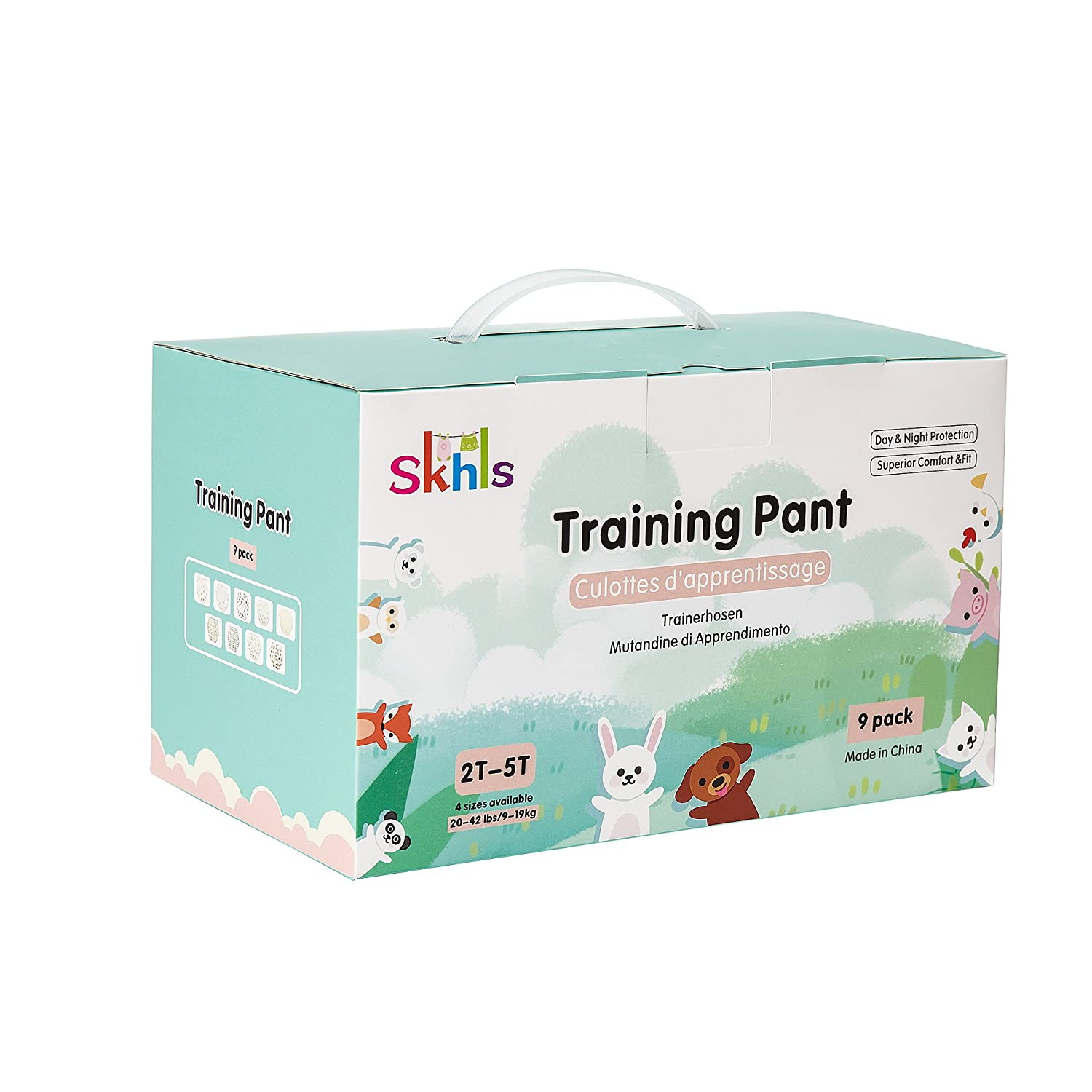 Skhls Baby Kids Thick Washable Cotton Potty Training Pants Nappy Underwears