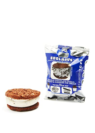 Cool Haus coolhaus sandwich chocolate cookie and