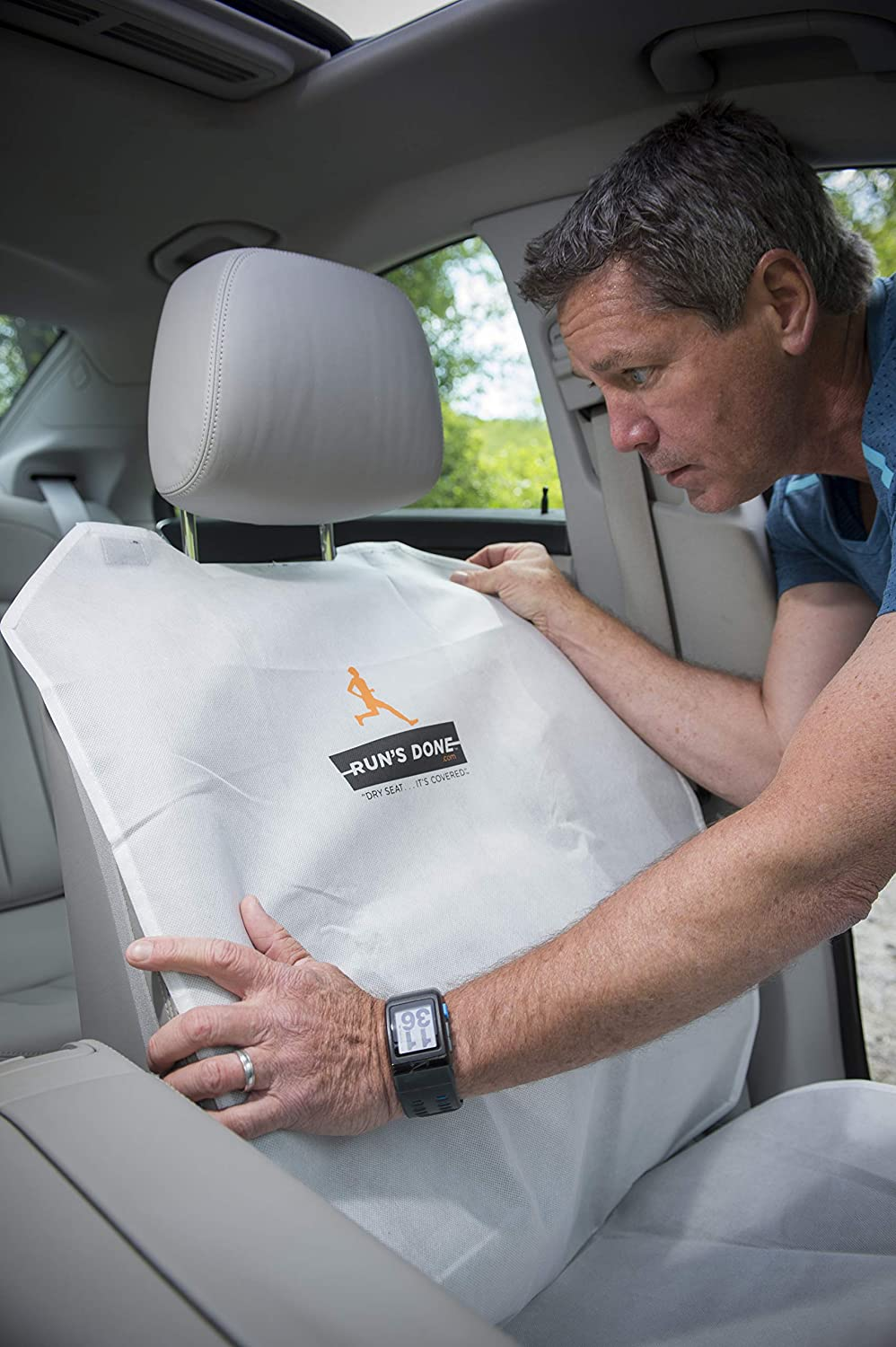 Runs Done Car Seat Cover Reusable Disposable Protective Hygienic 1