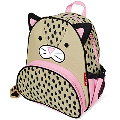 "Skip Hop Toddler Backpack, 12"" Leopard School Bag, Multi: Baby"