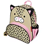 "Skip Hop Zoo Insulated Toddler Backpack London Leopard, 12"" School Bag,"