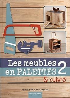 Amazon Fr Les Meubles En Palettes Maud Vignane Alban Lecoanet