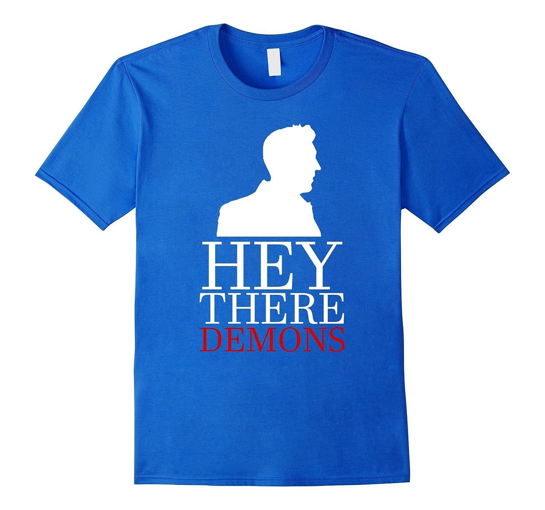 Hey There Demons T Shirt Heather-Tovacu
