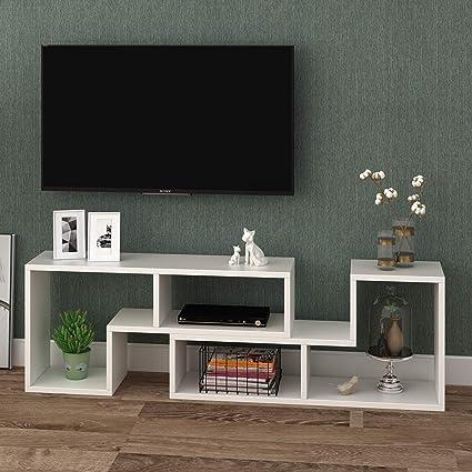 Amazoncom Devaise 094 Thk Tv Stand Modern Entertainment Center