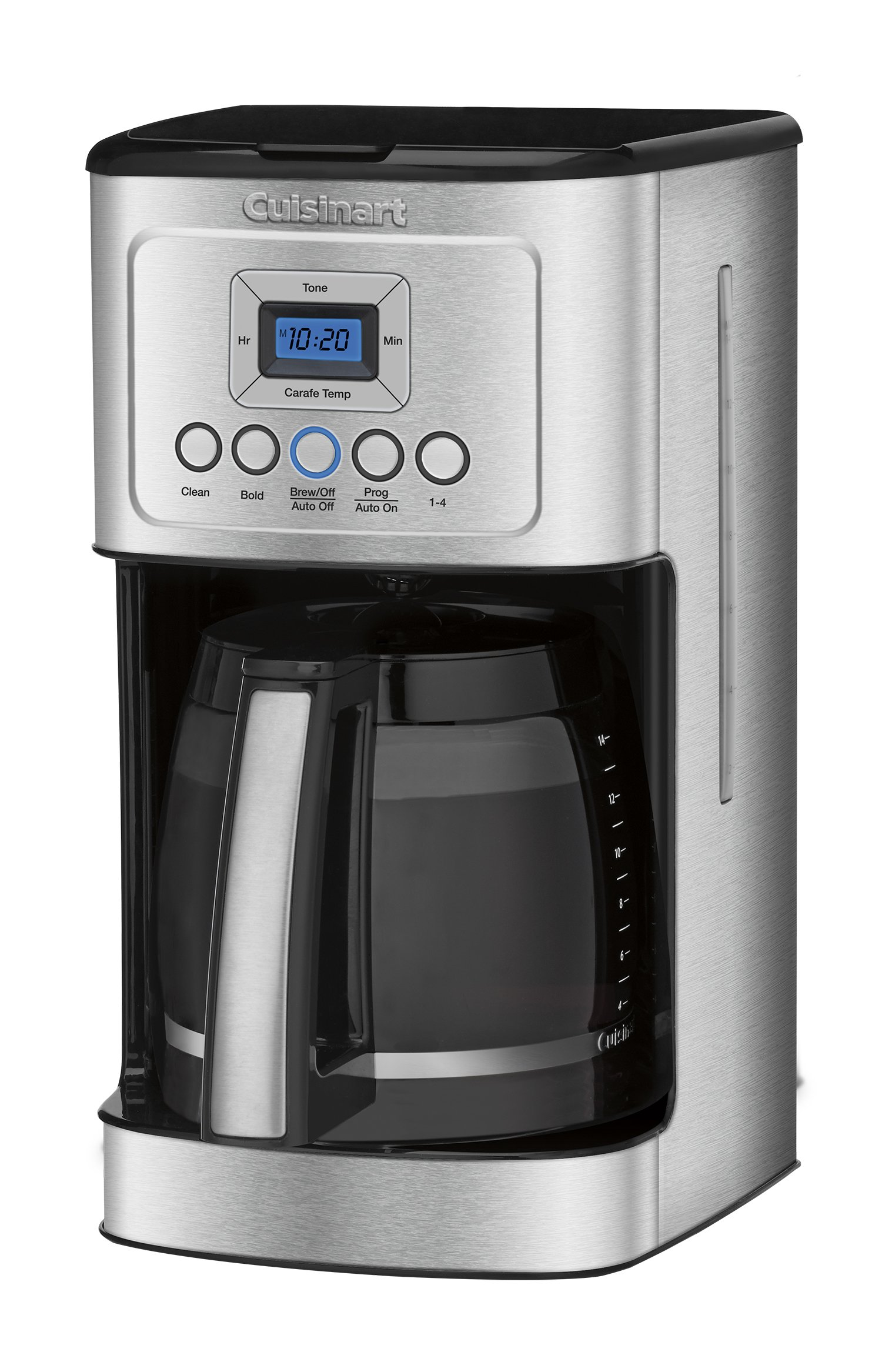Cuisinart DCC-3200 14-Cup Glass Carafe with Stainless Steel Handle Programmable Coffeemaker, Silver by Cuisinart (Image #3)