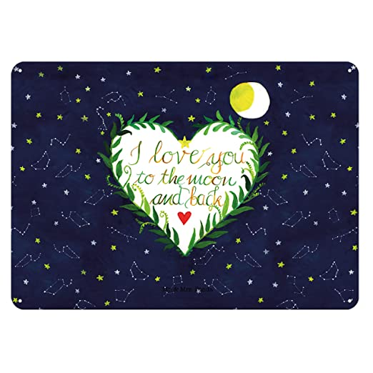 i love u sprüche englisch Amazon.de: Mr. & Mrs. Panda 30x20cm Blechschild Love u to the moon  i love u sprüche englisch