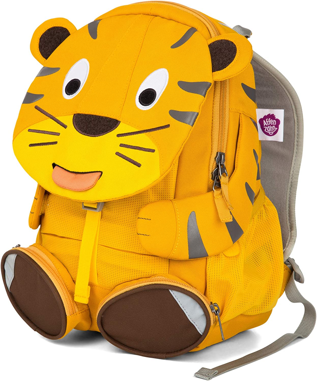 Affenzahn Mochila Para Niños de 3 a 5 Años en El Jardín de Infancia - Theo Tiger - Amarillo