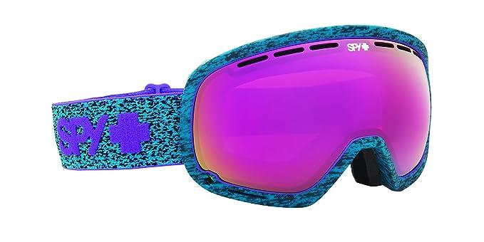 Gafas de esquiar con cristales lila neón spy marshall