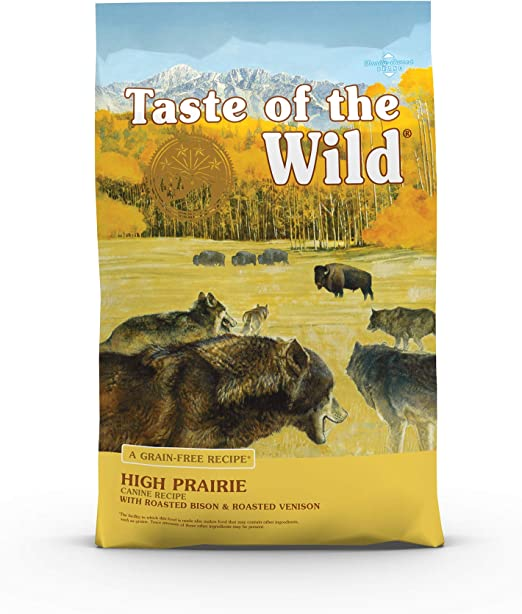 Taste of the Wild High Prairie Premium Dry Dog Food - Runner-Up Best Dog Food for Dogs with Hypothyroidism