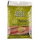 Traeger Grills PEL307 Alder 100% All-Natural Hardwood Pellets Grill, Smoke, Bake, Roast, Braise and BBQ, 20 lb. Bag