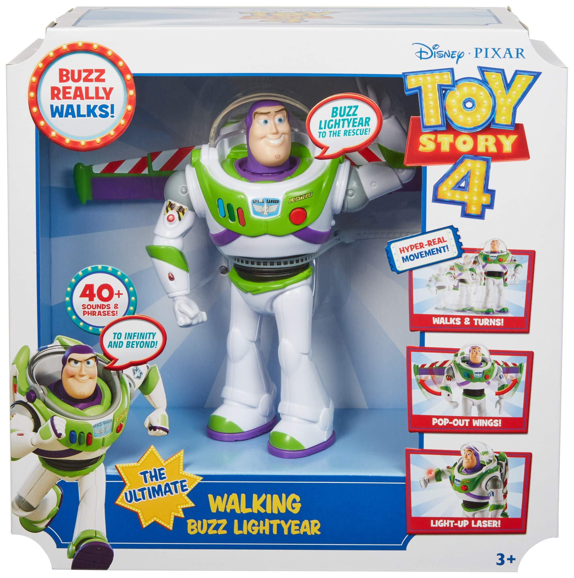 Disney Pixar Toy Story Ultimate Walking Buzz Lightyear, 7'' by Toy Story (Image #6)