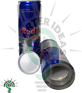Fake Red Bull 8.4 OZ Can Safe Diversion Secret Stash Safes with Hidden Storage to Hide Money Jewelry Anything