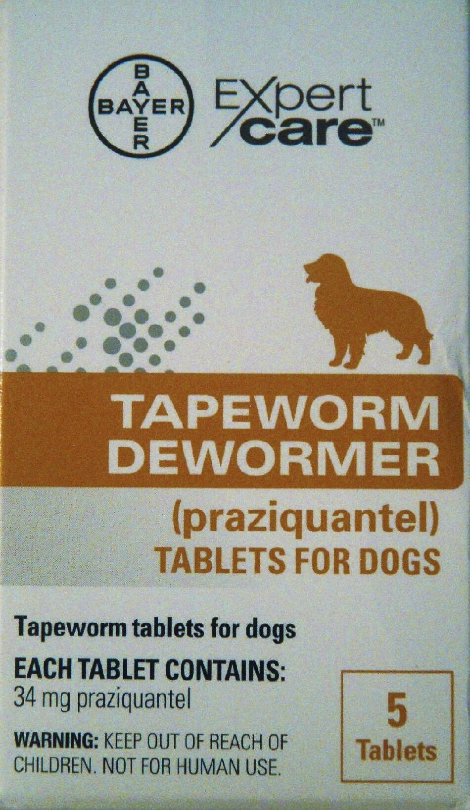 Tapeworm Dewormer for Dogs (5 Tablets)