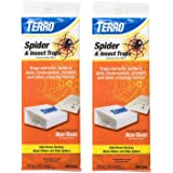 Terro T3206 Spider & Insect Trap (4 Count) … (Pack of 2)