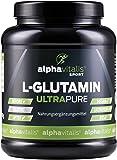 L-Glutamin Pulver ULTRAPURE - 99,95% rein - 1000g - vegan - glutenfrei - laktosefrei - feinstes L-Glutamin Pulver aus Deutscher Herstellung
