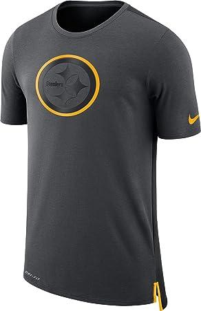Nike NFL Pittsburgh Steelers Travel Mesh Dri-Fit T-Shirt XX Large ... 6a9fecbe5