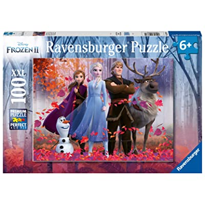 Ravensburger 12867 Disney Frozen 2 - Magic of The Forest - 100 Piece Jigsaw Puzzle for Kids - Every Piece is Unique - Pieces Fit Together Perfectly, Multi: Toys & Games