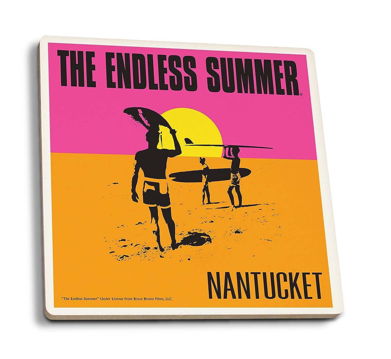 Amazon.com: Nantucket, Massachusetts - The Endless Summer - Original Movie Poster (12x18 Art Print, Wall Decor Travel Poster): Posters & Prints