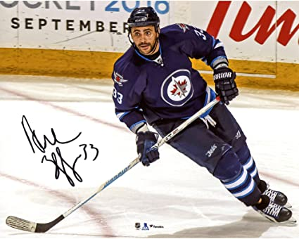 reputable site 3d7df c66f2 Dustin Byfuglien Winnipeg Jets Autographed 8