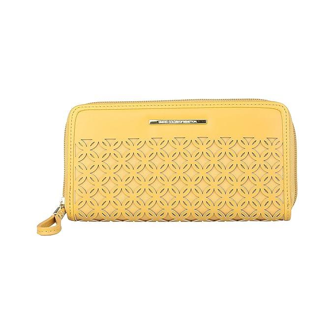BENETTON cartera mujer 15A73790 amarillo - mujer - TU ...