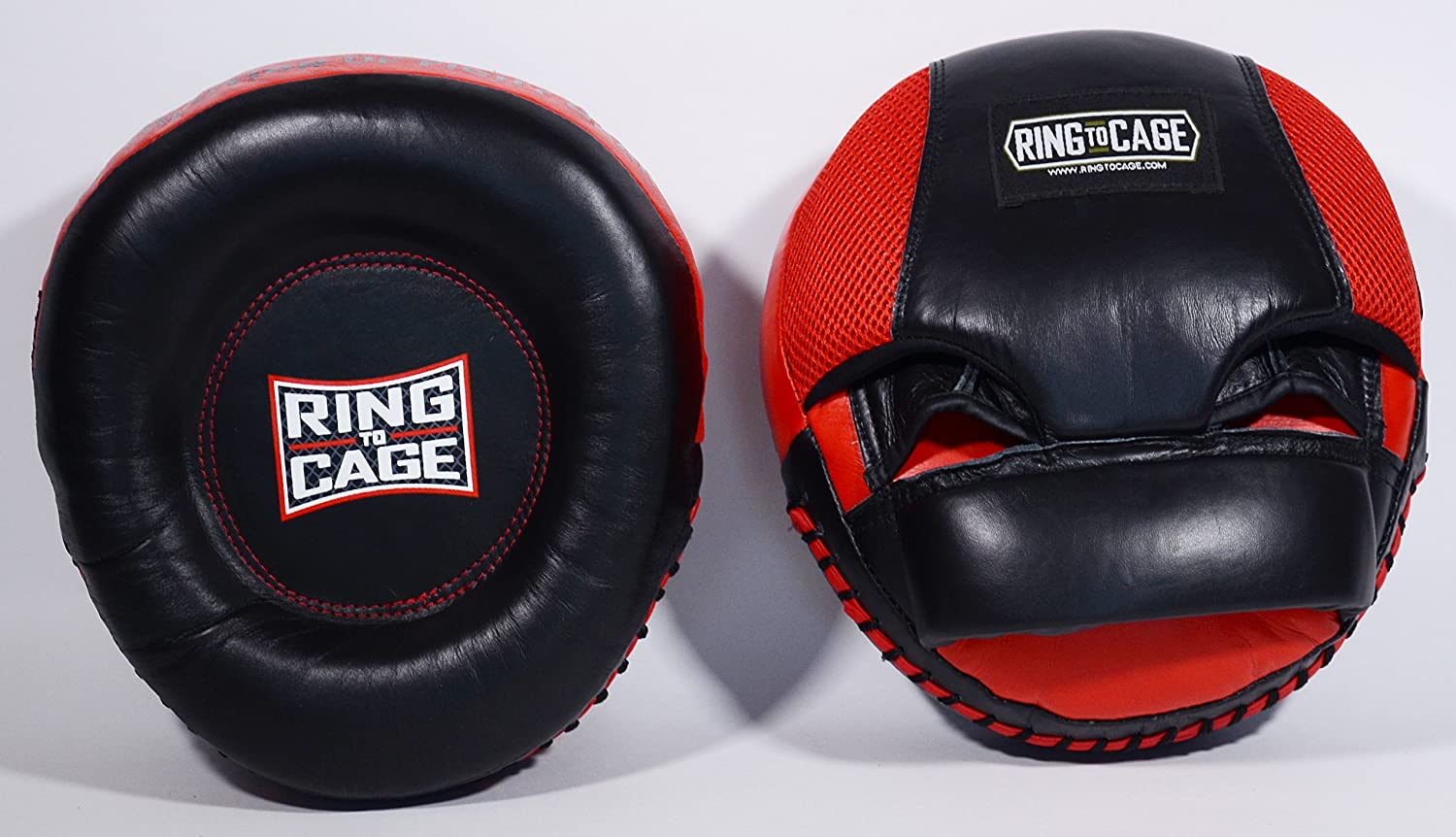 Ring to Cage Deluxe Air Mitts Extra Thick All Leather