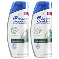 Head & Shoulders Itchy Scalp Care Anti-Dandruff Shampoo, Infused with Eucalyptus...