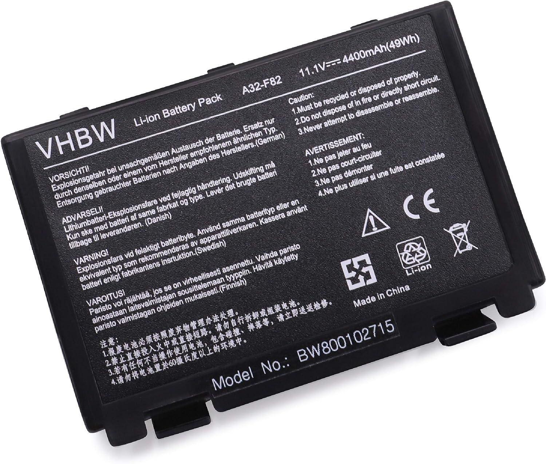 Vhbw Li Ion Akku Für Asus X70a X70ab X70ad X70ae Computer Zubehör
